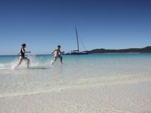 Whitehaven Beach Australien Ostküste Bootsausflug