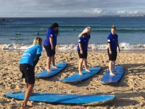 Surfen in Bondi Beach - Sydney