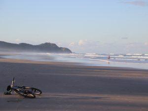 Fahrrad in Byron Bay
