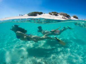 Schnorcheln Coral Bay Australien Camping
