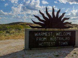 Mable Bar heißeste Stadt Australiens Rundreise