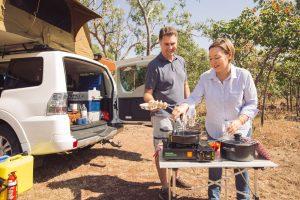 Outback Allradcamper Küche
