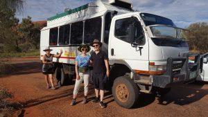 Allradfahrzeug für die Kleingruppenreise Australien