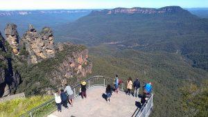 Auf der Kleingruppenreise Australien die Blue Mountains besuchen