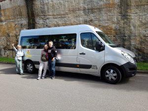 Bus für die Kleingruppenreise Australien
