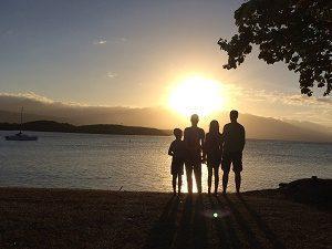 Ende der Familienreise Australien - Australien mit Kindern