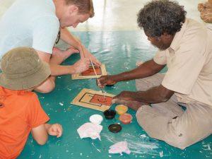 Australien Familienreise -Aboriginal Culture - Australien mit Kindern