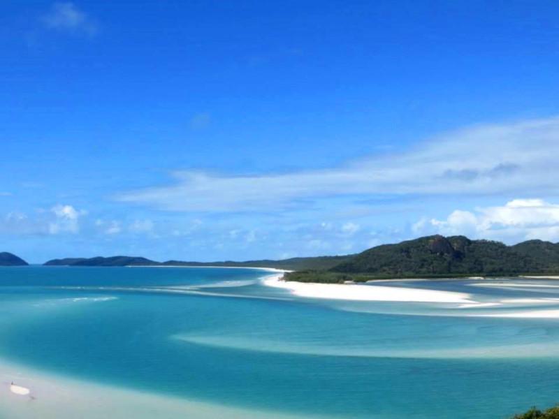 Traumhafter whitsunday strand
