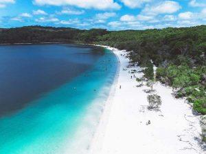 Paradiesische Strände am Lake McKenzie