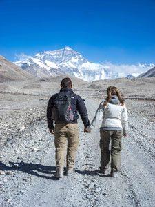 Hiken naar Everest