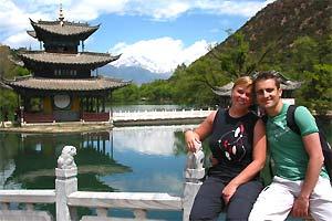 china tibet black dragon lake