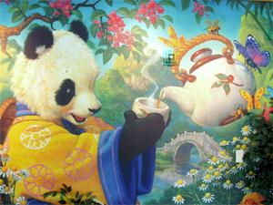 Chengdu China Tibet reizen - panda