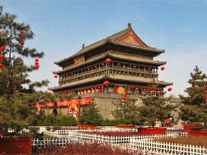 china drum tower xian