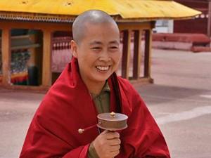 reisinformatie Tibet monnik jokhang