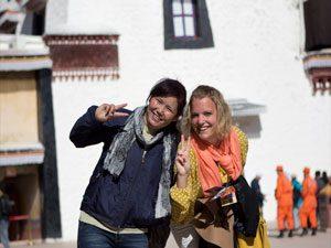 tibet bewoners