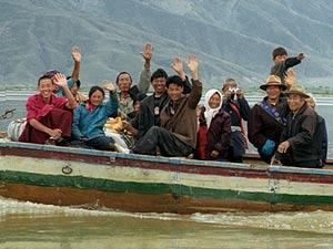 tibet boat samye
