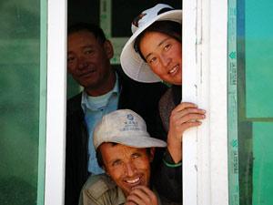 tibet glurende tibetanen
