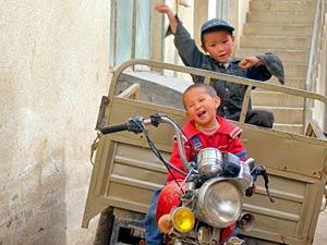 Individuele reis Tibet kindjes