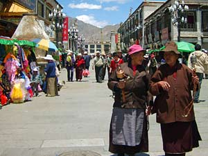 china tibet lhasa barkhor