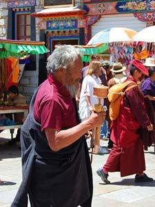 tibet lhasa barkhor