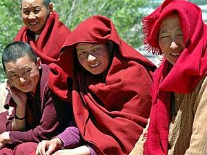 Individuele rondreis Tibet nam tso nonnen
