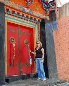 tibet poort klooster