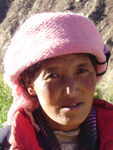tibet bewoner