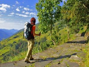 nepal tibet trekking vallei