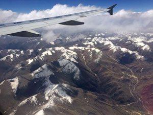 Vlucht Lhasa