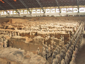 Terracotta leger Xi'an China
