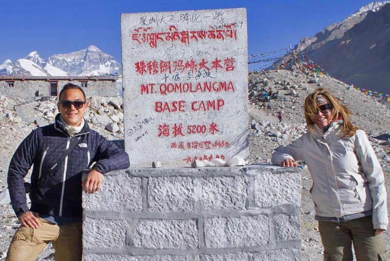 Base camp Himalaya - vakantie Tibet