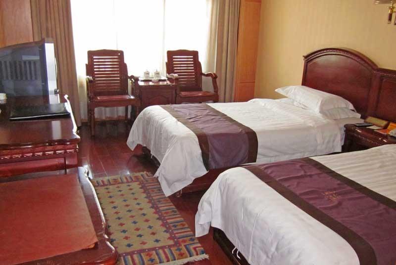 Kamer in Lhasa - Tibet rondreizen
