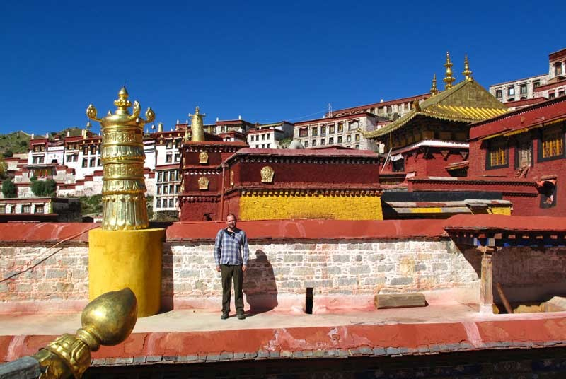 Tempels - vakantie Tibet