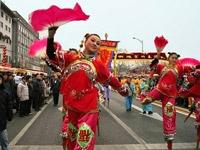 tradities china nieuw jaar parade
