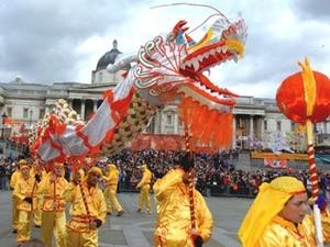 draak nieuwjaar china