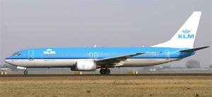 klm vliegtuig china reis