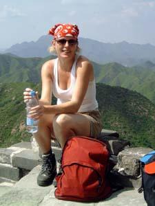china muur reiziger