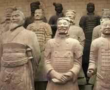 Geschiedenis Terracottaleger in Xian