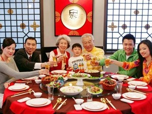 lokaal familie eten china