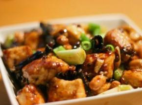 Gong Bao kip eten