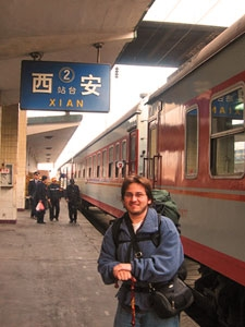 treinstation china