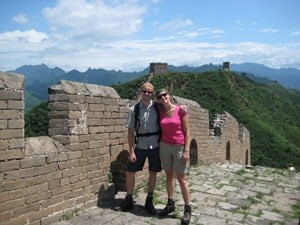china reis chinese muur