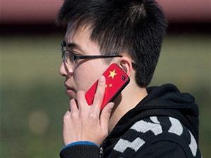 smartphone gebruiker in china