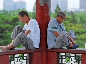 mannen in beijing china