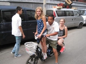 blond in china