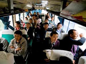 bus songpan chengdu china