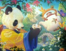 reis China Chengdu pandaberen