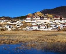 Aan de voet van de Himalaya