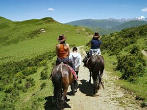 china vakantie paardrijden Songpan