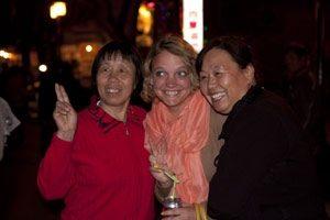 chinezen op foto china reis